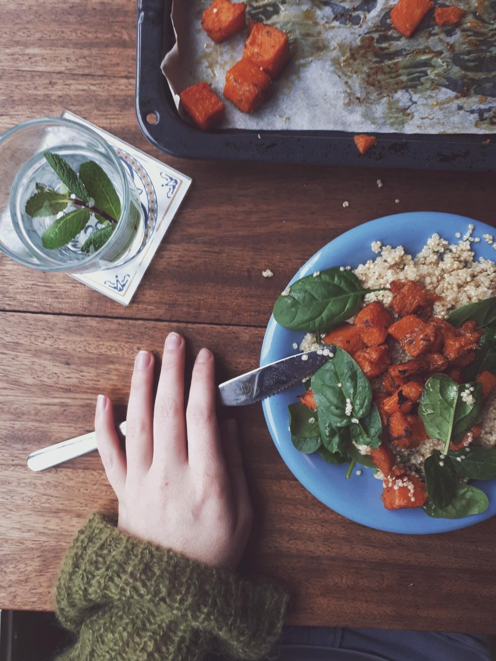 Pompoen salade